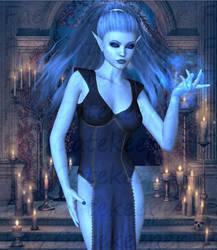 Blue Trepidation by faegatekeeper