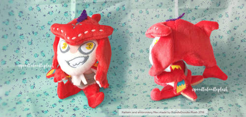 Prince Sidon Chibi Plush Breath of the Wild by TheBeardedSewist