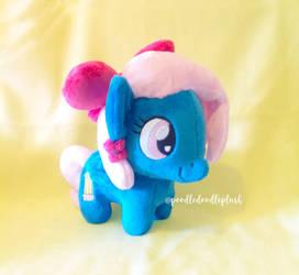 Chibi Pony Sona OC Art Blossom My Little Pony by TheBeardedSewist