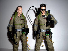 Ghostbusters - Peter and Egon by CyberDrone2-0