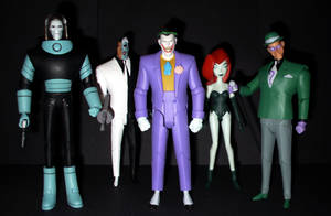 Batman Animated Figures - Villians by CyberDrone2-0
