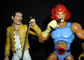 Freddie and Lion-O by CyberDrone2-0