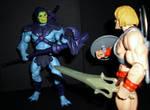 Skeletor vs He-Man by CyberDrone2-0