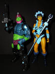 Trap Jaw and Evil-Lyn by CyberDrone2-0