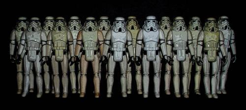 Star Wars - Vintage Stormtroopers by CyberDrone2-0