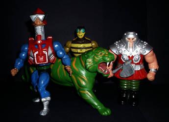 Vintage MOTU - Heroes by CyberDrone2-0