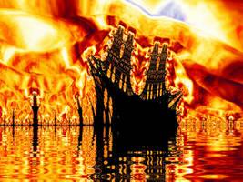 The Burning Ship by Jurrivortex