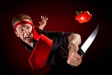 Tomato Ninja by gyaban
