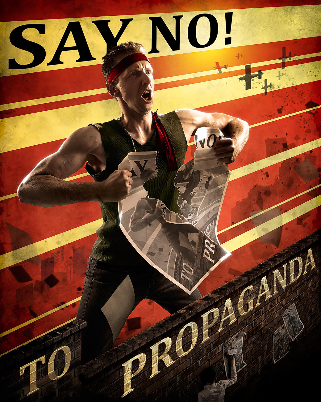 Anti-propaganda Propaganda by gyaban