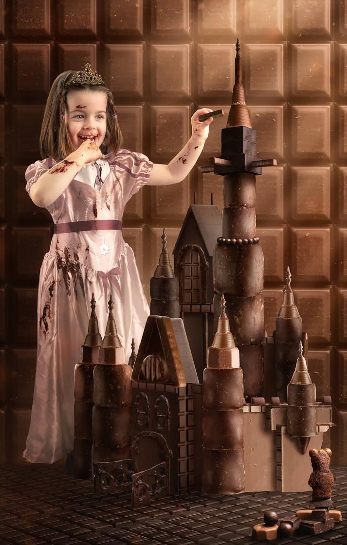 The Chocolate Princess by gyaban