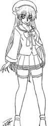 Lakshmi No Virgo Lineart by Tsukikaze14
