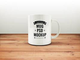 Freebie - Coffee Mug PSD Mockup by GraphBerry