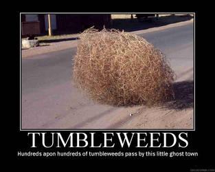 Tumbleweed demotivational post by grifkuba