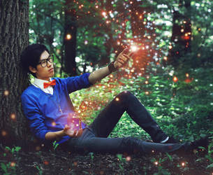 Fireflies by m1kikey