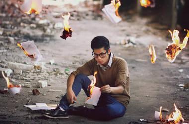 feelings on fire by m1kikey
