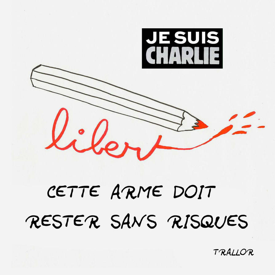 Hommage a Charlie Hebdo by trallor