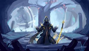 [Warframe Fanart] Howl All You Want by MekaAoratos