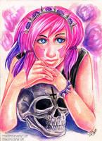 Skull lover by RetkiKosmos