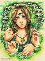 Ganja Girl by RetkiKosmos