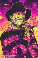 Neon Horror VII: Freddy by RetkiKosmos
