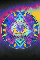 Eye Plaque by RetkiKosmos