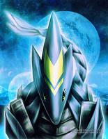 Robot Dragon: Font by RetkiKosmos
