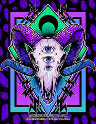 Ram Skull by RetkiKosmos