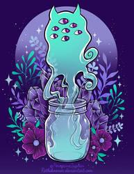 Jar Ghost by RetkiKosmos