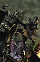 Batman VS Joker by benttibisson