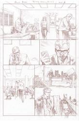 Batman Arkham Breakout Pencils page 1 by benttibisson