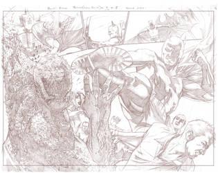 Batman Arkham Breakout Pencils pages 4 and 5 by benttibisson