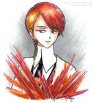 [Land of the Lustrous] Rutile by fish-in-fridge