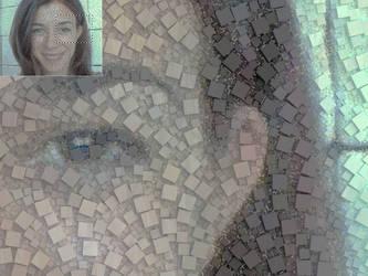 Maria cute mosaic by albertoven