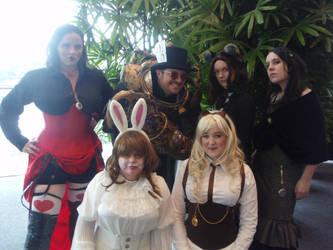 Alice in Steampunk-land by Deborahs-Conscience