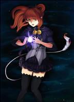 AnE Oc- Mina Shitenshi- The light within me by Zerucune