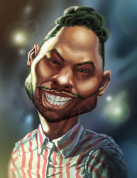 Miguel Caricature by Erlson