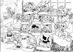 Scrooge McDuck by TarontPainter