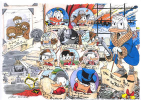 Life and Times of Scrooge McDuck by TarontPainter