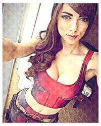 Deadpool Lady by wolfytuga