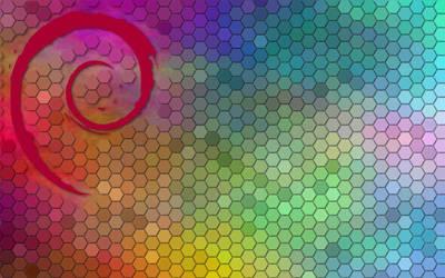 Colorful Debian #20170105 by wolfytuga