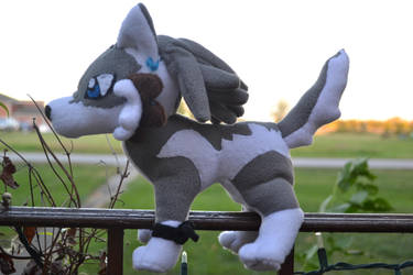 Wolf Link Plush by Follow-to-wonder