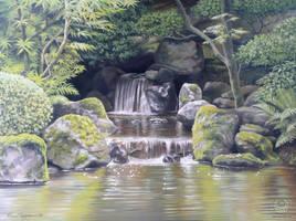 Waterfall by KaceyM