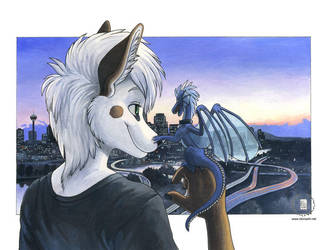 View of the City by KaceyM