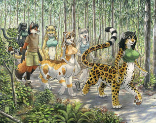 Forest Tales by KaceyM