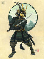 Sable Samurai by KaceyM