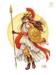 Athena by KaceyM