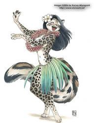 Coco Hula Dancing by KaceyM
