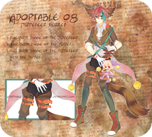 [CLOSED] Adoptable 08: Puppeteer Ferret by Staccatos