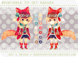 [CLOSED] Adoptable 33: Sky Ranger by Staccatos