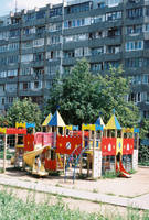 Playground by residential building by TsDott